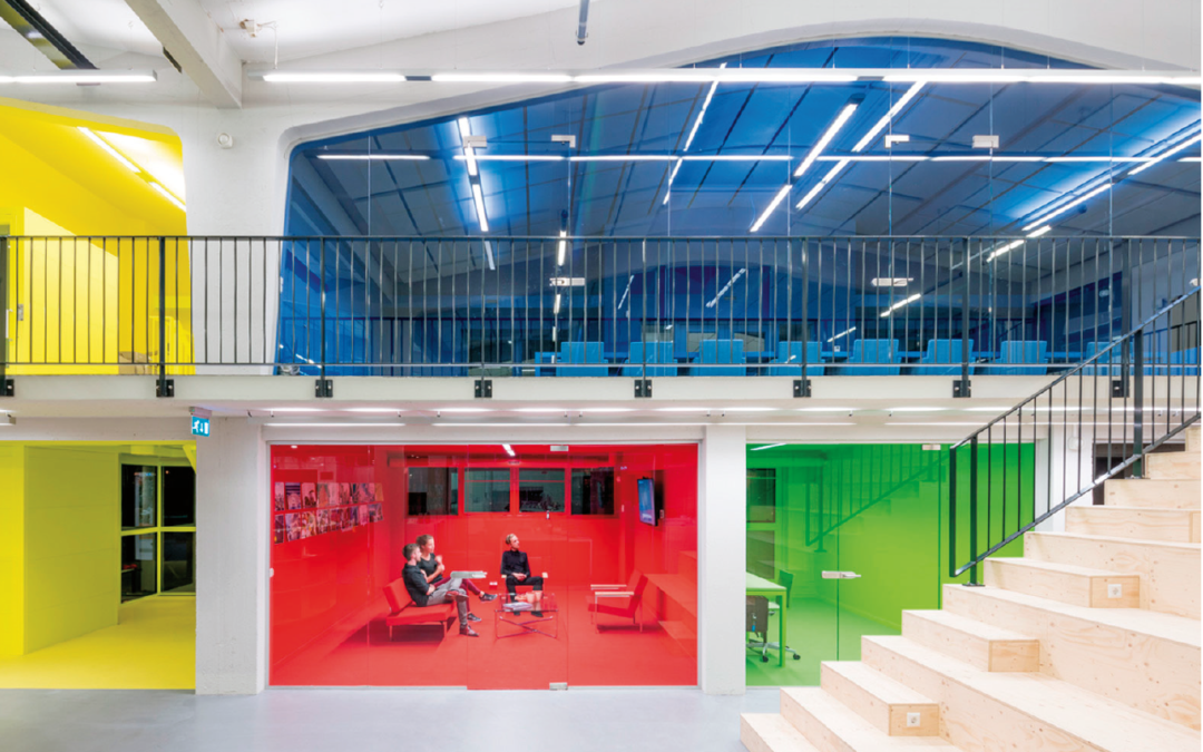 The correct use of color in architecture and design
